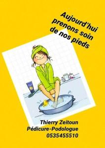 Thierry Zeitoun podologue jerusalem